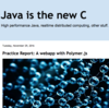 Java is the new C