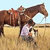 Cowgirl Runs by Angela