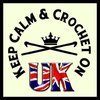 Keep Calm and Crochet On U.K