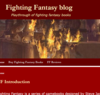 Fighting Fantasy - Playthrough of fighting fantasy books
