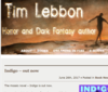 Tim Lebbon – horror and dark fantasy author