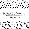 Nathalie Ouederni | Watercolor Illustration & Pattern design