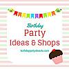Birthday Party Ideas & Shops