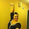 Beautiful Girl In The Ballroom