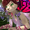 Softpaw the Fairy Cat of Second Life