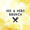 His and Hers Brunch   Edinburgh Food Blog