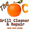 The OC Grill Cleaner