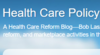 Health Care Policy and Marketplace Review