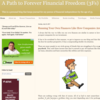 A Path to Forever Financial Freedom (3Fs)