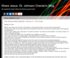 Share Jesus- Dr. Johnson Cherian's Blog