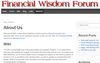 Financial Wisdom Forum