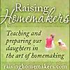 Raising Homemakers Blog