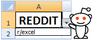 Reddit - Excel Help