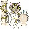 Athena Cat Goddess Wise Kitty