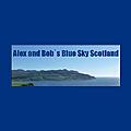 Alex and Bob`s Blue Sky Scotland