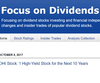 Focus on Dividends