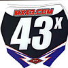 MX43 - For The Vet motocross Riders