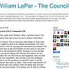 William LePar - The Council