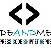Code And Me - WordPress Code Snippet Repository