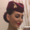 Danielle Murnane - Qatar Airways cabin crew in Doha