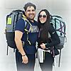 Happy Nomad Couple