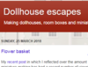 Dollhouse escapes