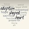 Adoption Shaped Heart | Adoption Consultants