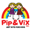 Pip & Vix Art Kits Inc | Parents resource for raising creative kids