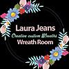LauraJeansWreathRoom