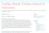 UrsDay World: UrsDay School of Advocates