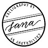 Calligraphy By Sana
