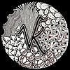 Vandana Krishna » Zentangle
