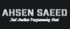 Ahsen Saeed   Just another Programming Nerd