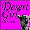 Desert Girl on Kuwait